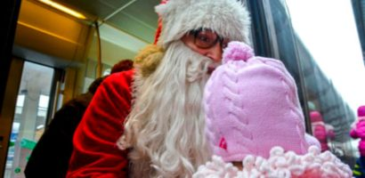 Sambata 22 decembrie soseste mosul in Gara Oradea