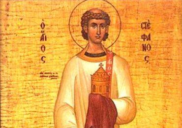 Sfântul Ştefan-Cel Încununat este prăznuit în fiecare an pe 27 decembrie. Ce spune legenda