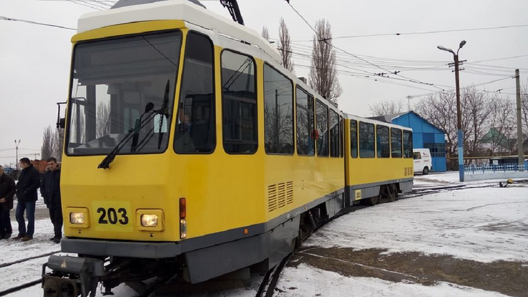 Tramvai model KT4DM germania