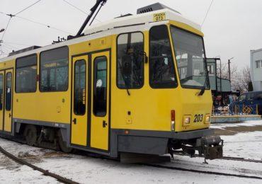 Tramvaie Oradea modele KT4DM, aduse din Germania