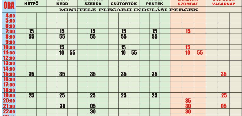 Incepand cu 16 decembrie se modifica graficele de circulatie pe liniile de autobuz si tramvai