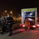 Exercitiu de simulare a activarii Planului Rosu la Vernicolor, pe Calea Borsului (FOTO / VIDEO)