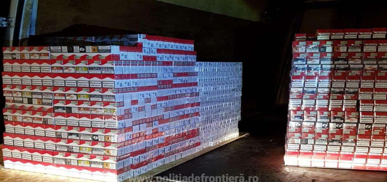 Ucrainean prins in vama Valea lui Mihai cu 10.000 de pachete de tigari de contrabanda