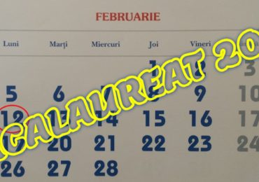 Calendar Bacalaureat 2018. Primele examene incep in februarie