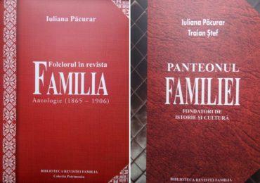 Revista Familia lanseaza primele doua carti din Colectia Patrimoniu
