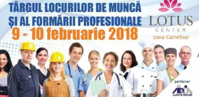 In 9 si 10 februarie va avea loc Târgul Locurilor de Muncă și al Formării Profesionale
