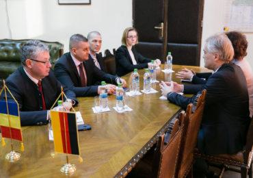 Nemtii vor sa investeasca in judetul Bihor. Consulul german Ralf Krautkrämer, in vizita la Oradea