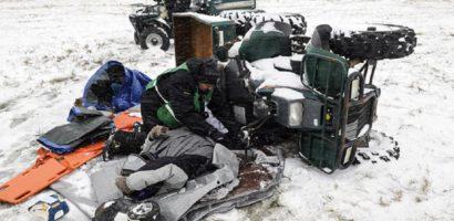 Pieton accidentat mortal de un ATV in satul de vacanta Vartop