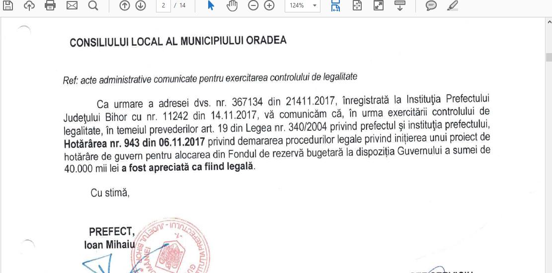 Primaria Oradea dovedeste ca Ioan Mang nu este doar prost informat, ci si mincinos