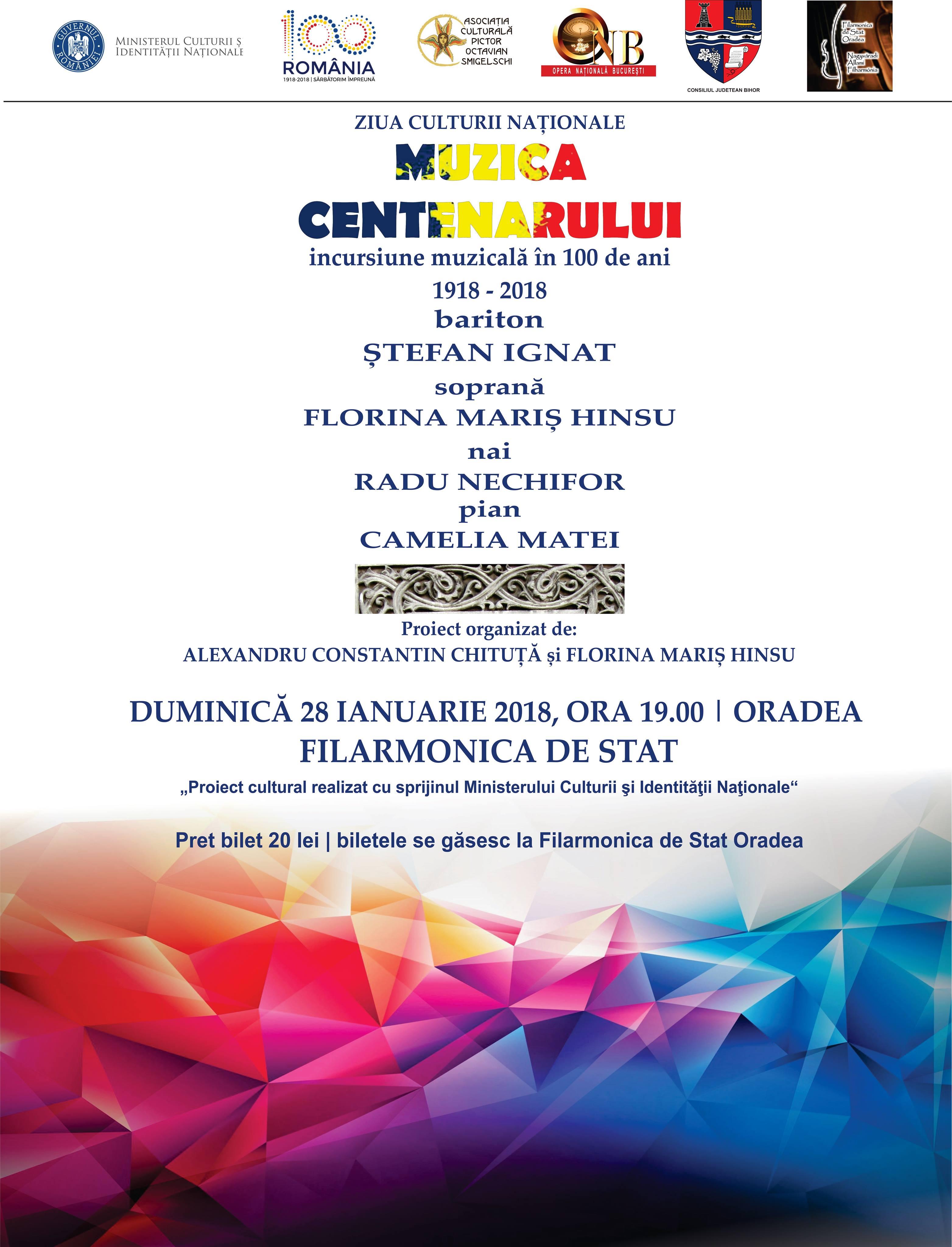 concert Muzica centenarului Oradea