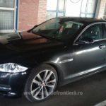 Un autoturism marca Jaguar, in valoare de 35.000 de euro, cautat in Franta, descoperit  in Vama Bors