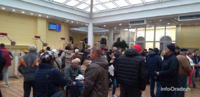 Interes enorm pentru plata impozitelor la Oradea. Peste 1300 de persoane si-au platit darile din prima zi