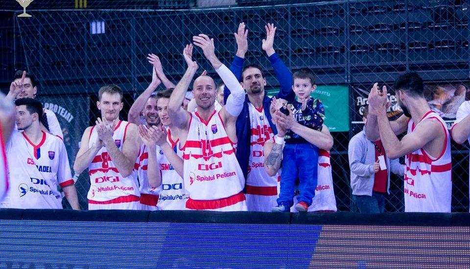 CSM CSU Oradea s-a calificat in fianala Cupei Romaniei la baschet masculin