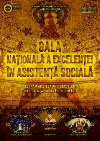 Gala Nationala a Excelentei in Asistenta Sociala Chereches