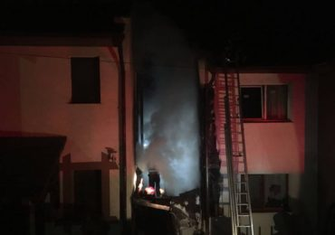 Incendiu in Paleu. Doua gospodarii au luat foc in aceasta noapte