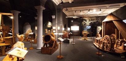 """""""Scoala altfel"""" la Muzeul Tarii Crisurilor pentru a vizita expoziţia """"Maşinile"""" lui Leonardo da Vinci"""