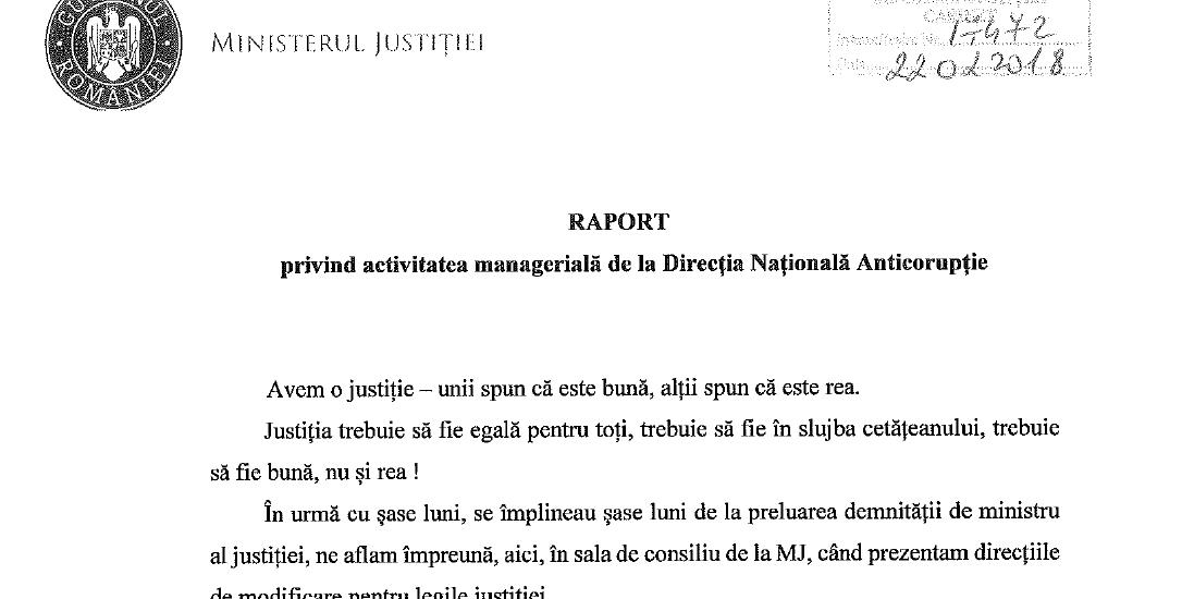 """InfoOradea va prezinta """"Raportul privind activitatea manageriala de la DNA"""""""