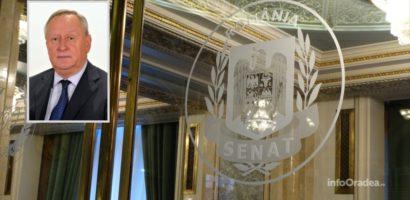 Senatorul bihorean Cornel Popa a fost ales, din nou, Vicepresedinte al Senatului