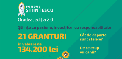 Stiintescu Oradea a publicat lista proiectelor care vor primi finanțare