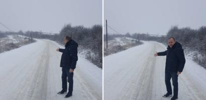 """Scantei la CJ Bihor, Traian Bodea acuza necuratarea drumurilor, Ioan Mang: """"s-a stricat o sararita"""""""