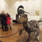 """Expozitia """"Ultimii dinozauri din Transilvania"""" mai ramane la Muzeul Tarii Crisurilor pana in 4 martie"""