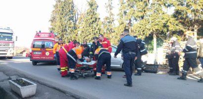 Accident mortal in Alesd, un barbat a fost spulberat pe o trecere de pietoni