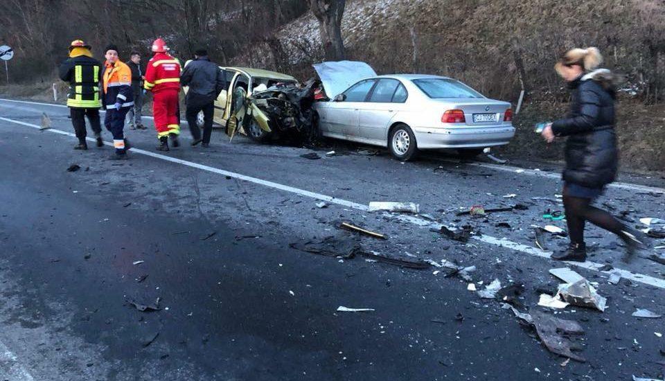 Doi soti din Santandrei, au murit intr-un accident grav de masina pe DN1, in localitatea Poieni