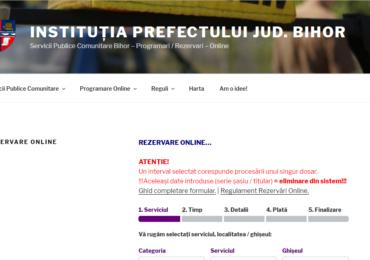 Exclusiv online!? Prefectura anunta modificari in modul de programare la Permise si Inmatriculari