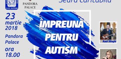 """S.O.S. Autism va invita la o seara caritabila: """"Împreună pentru autism"""""""