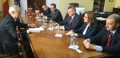 Ambasadorul Bielorusiei din nou la Oradea. A doua vizita in ultimele 6 luni