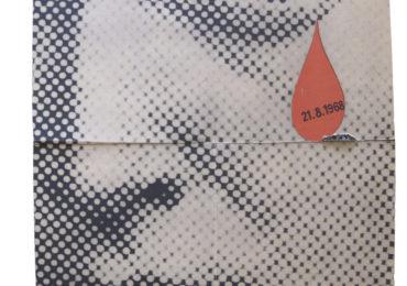 Autor necunoscut, 1968, poster, Poza arhive Muzeul Național, Colecția de istorie cehă modernă