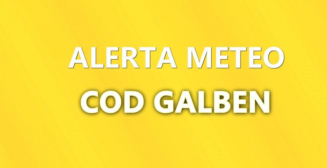 Avertizare COD GALBEN pentru judetul Bihor, de ploi insemnate cantitativ