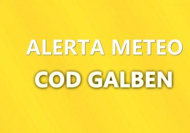 Oradea si mare parte din judetul Bihor sub COD GALBEN de vreme severa imediata.