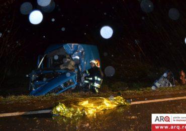 Accident grav pe DN79 Arad-Oradea. Doi morti si doi raniti grav