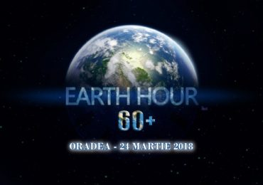 Rotaract Club Oradea va invita, azi 24.03.2018, in Pta. 1 Decembrie la Earth Hour 2018 #connect2Earth