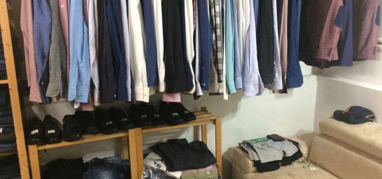 Haine contrafacute, in valoare de 60.000 de lei, confiscate in urma unor perchezitii ale politistilor bihoreni