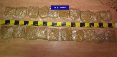 Dosar penal pentru un bihorean, prins cu 10 kg de tutun neprelucrat si nemarcat