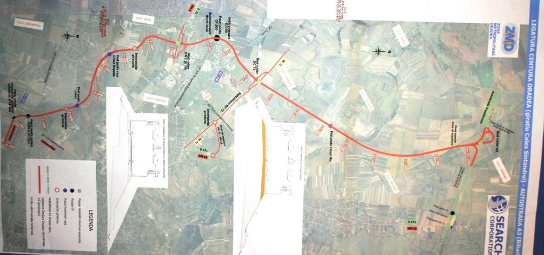 Oradea va avea un drum de legatura cu Autostrada Transilvania