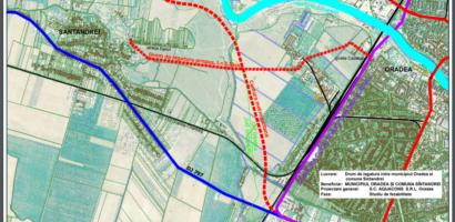 A fost semnat contractul pentu realizarea drumului de legatura Oradea-Sintandrei