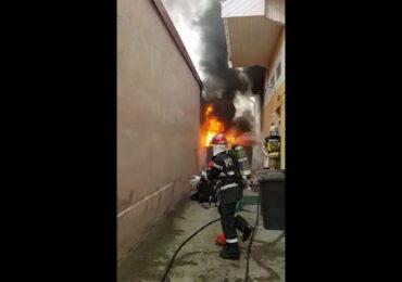 Incendiu Ion Vidu Oradea 15.03