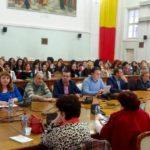 """Despre plagiat cu Prof. Univ. Isoc Dorin, conferinta """"Stima de sine, integritate, progres – o schita de strategie sociala!"""""""