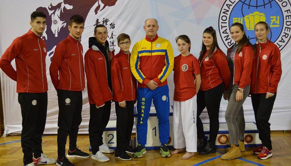Rezultate remarcabile ale sportivilor oradeni la Openul Serbiei de Taekwon-do