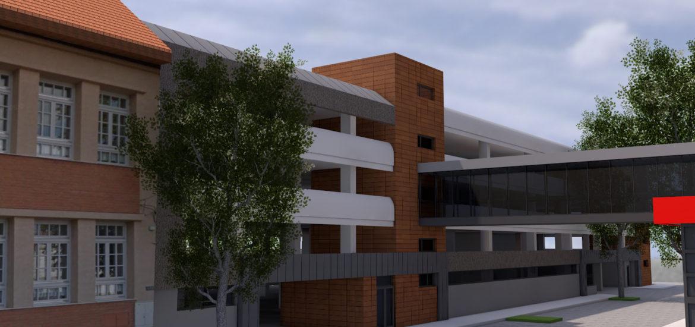 Parcarea supraetajata de pe str. Brasovului va avea 400 de locuri si va fi realizata de ADP Oradea.