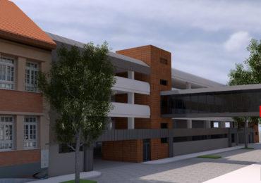 Primaria va construi o parcare supraetajata, de 400 de locuri, in spatele magazinului Crisul