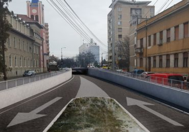 Pasajul Magheru, noul pasaj rutier subteran din Oradea (FOTO)