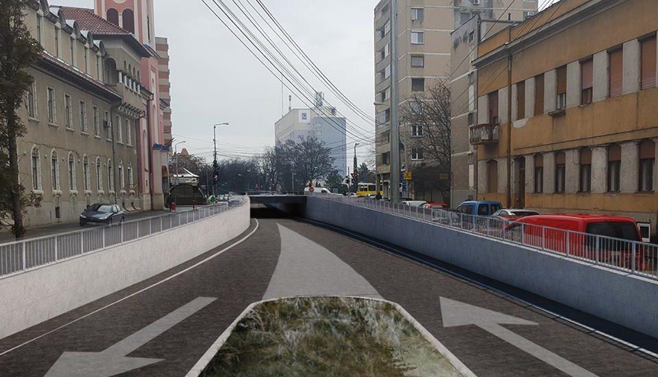Constructia pasajului Magheru – Aleea Strandului se afla in procedura de licitatie