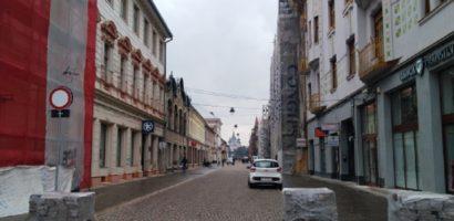 Primaria a stabilit orarul de acces al autovehiculelor pe Vasile Alecsandri
