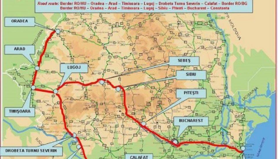 """Via Carpatia prinde contur, """"Mega Autostrada estului"""" va trece prin Oradea"""
