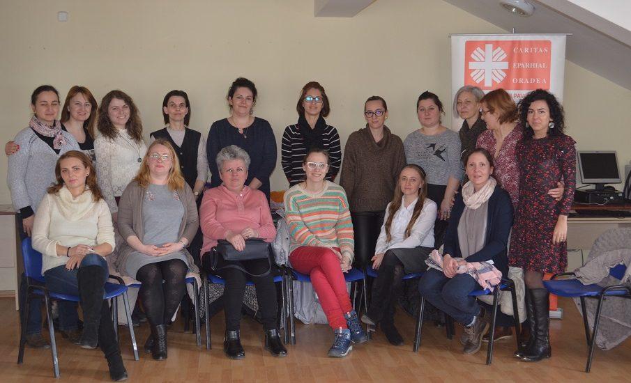 Asociaţia Caritas Eparhial Oradea a organizat un Workshop de autocunoaştere prin tehnici de psihodramă