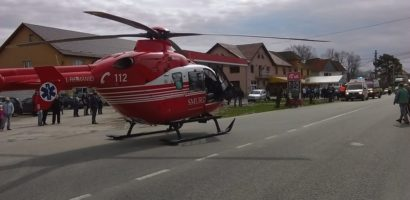 Accident grav in Sudrigiu! Trei masini implicate intr-o coliziune cu patru victime (FOTO)